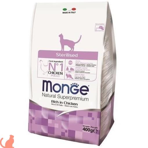 Обзор корма Монж для стерилизованных кошек